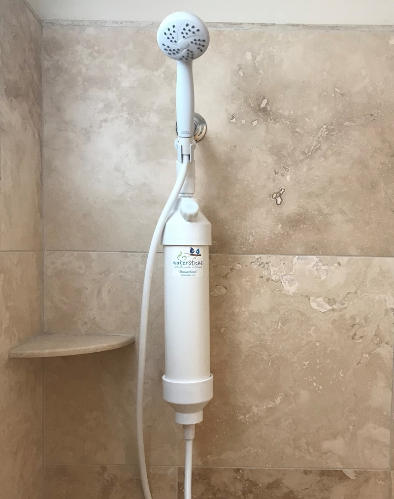 ShowerStick Shower Water Softener
